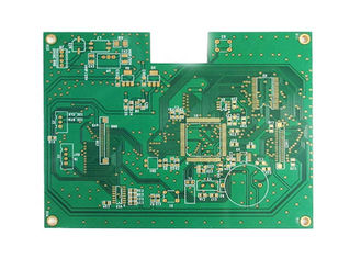Cina Matt Green Solder Mask 4 lapisan Immersion Finishing Emas Rigid FR4 PCB pabrik