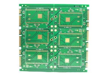 Cina Kustom Prototipe FR4 Multilayer PCB Fast Turn 6 Layers Fr4 Rigid Multilayer PCB pabrik