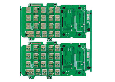 8 Lapisan FR4 Multilayer PCB, FR4 PCB HASL Memimpin Papan Sirkuit Multilayer Gratis
