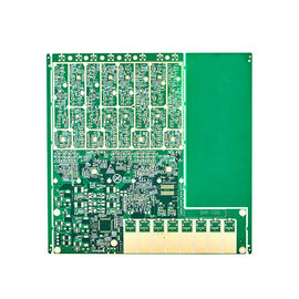 Presisi Tinggi Multilayer Sided Electronic Pcb Board 6- Lapisan Keras Emas