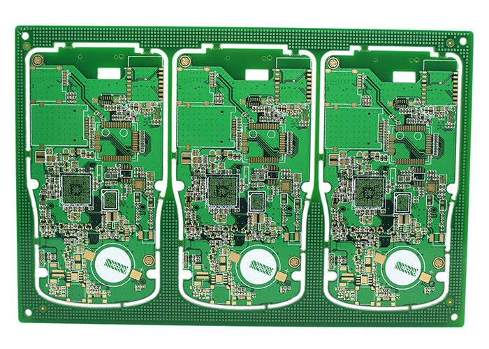 Electronic High Density Interconnect Pcb Lubang Buta / Lubang Terkubur pemasok